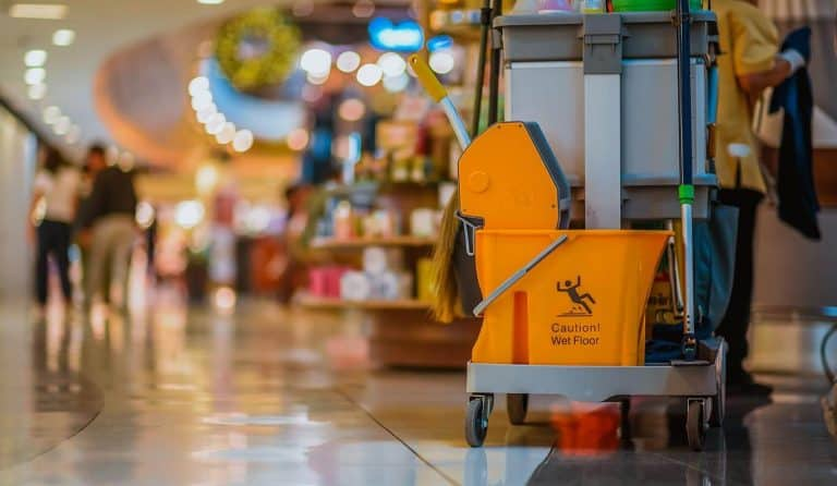 Cleaning Contractors Insurance shopping mall