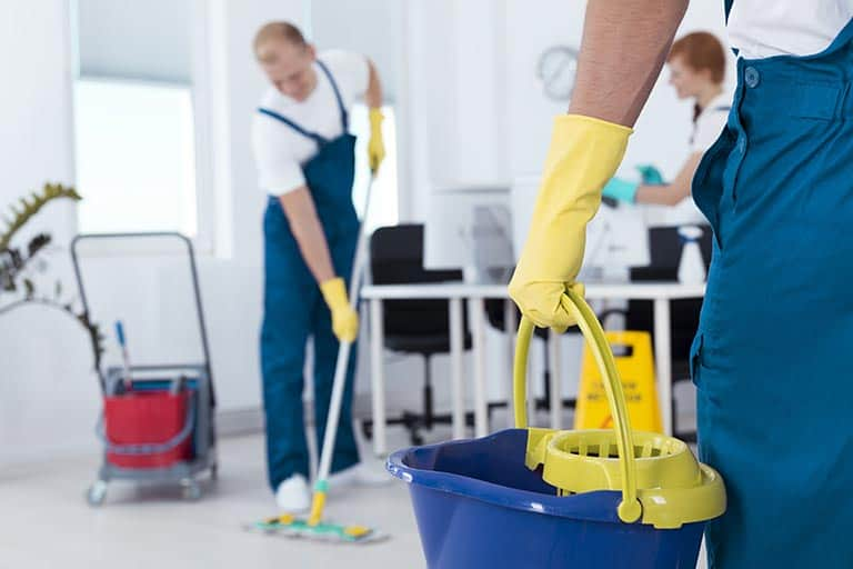 Cleaning Contractors Insurance team