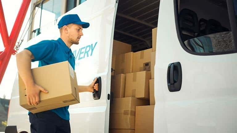 Courier Van Insurance delivery