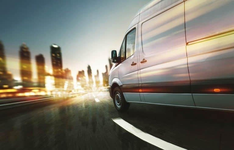 Courier Van Insurance moving van