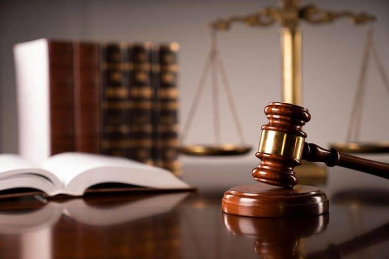 gavel on desk of a judge
